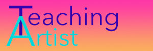 Logo for Teaching Artist Podcast